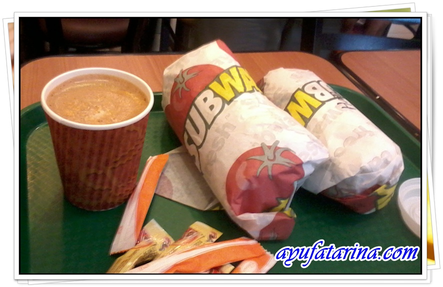 Breakfast @ Subway