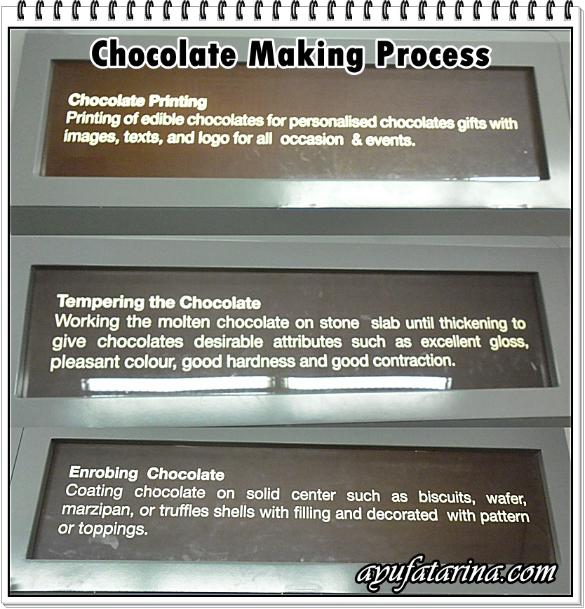 Chocolate Making Process @ Muzium Coklat