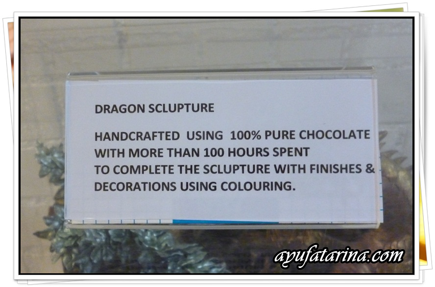 Dragon Sculptured Chocolate 2 @ Muzium Coklat Kota Damansara