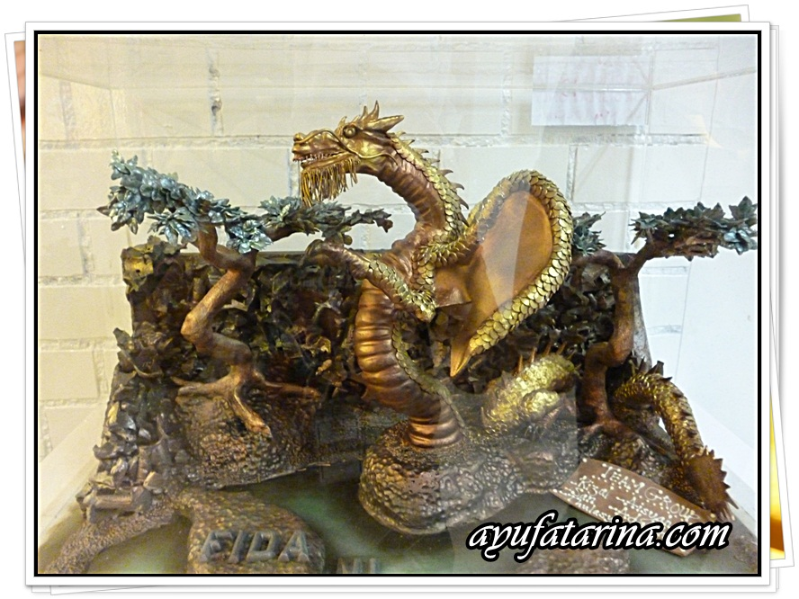 Dragon Sculptured Chocolate @ Muzium Coklat Kota Damansara