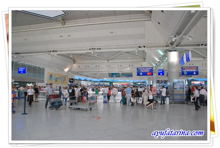 Inside Attaturk Airport 2