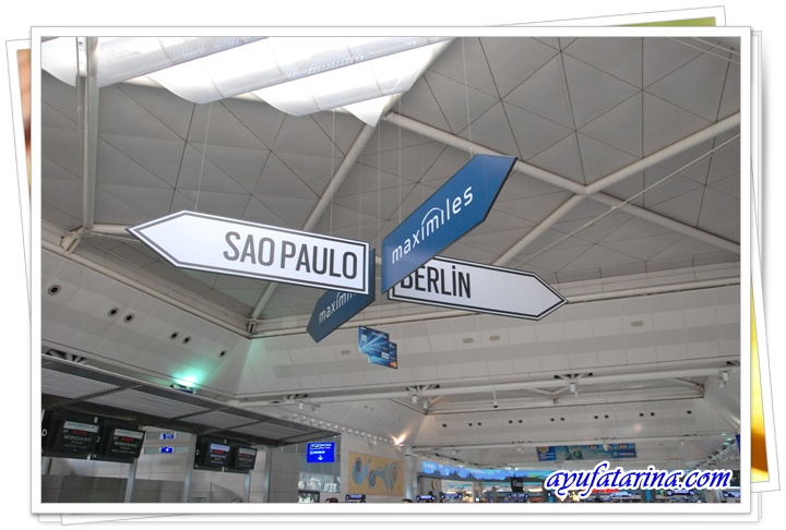 Inside Attaturk Airport