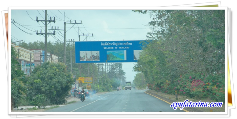 Welcome To Thailand Signboard