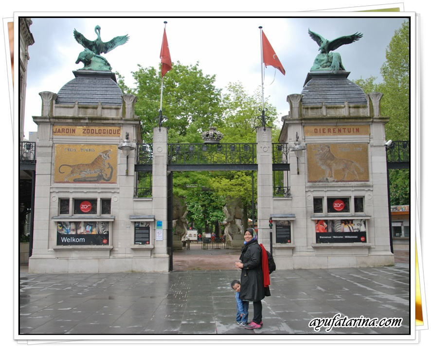 Antwerpen Zoo Entrance