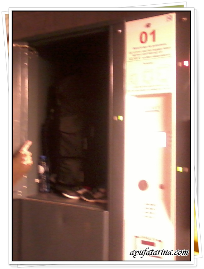 Bag Locker at Antwerpen Centrale