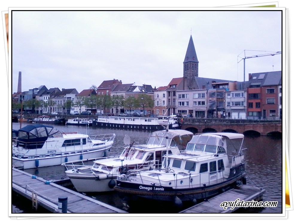 Boats in Ghent 1