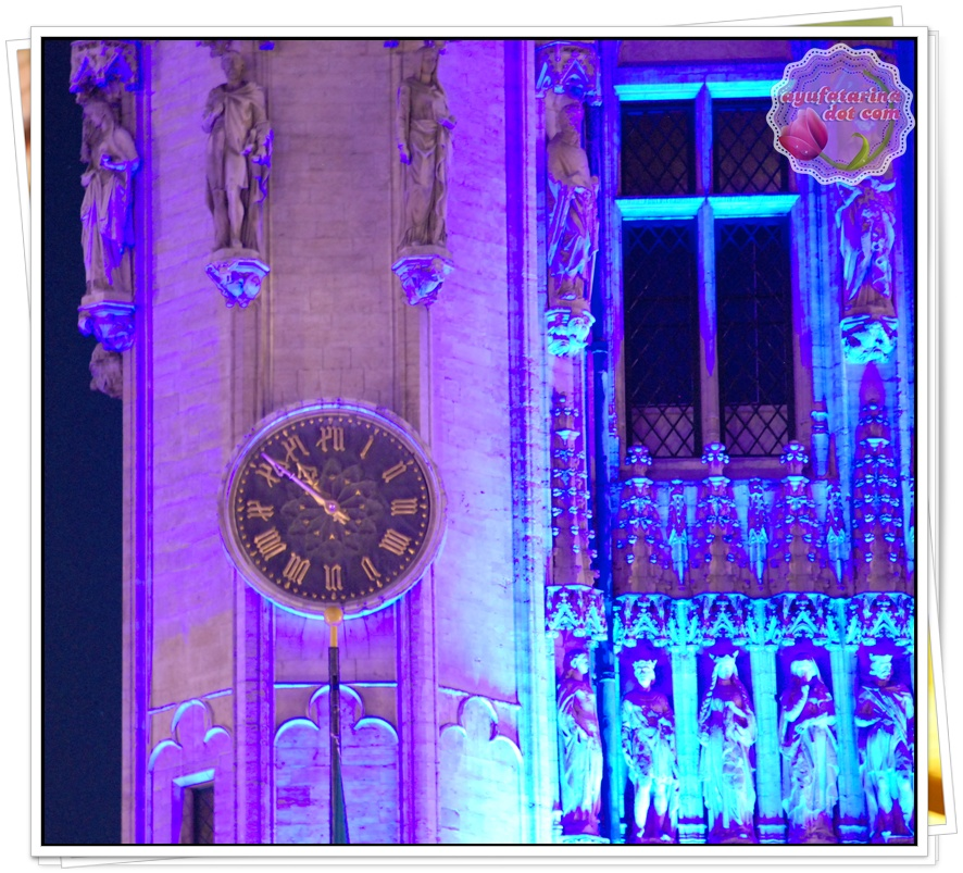Clock at Grand Place