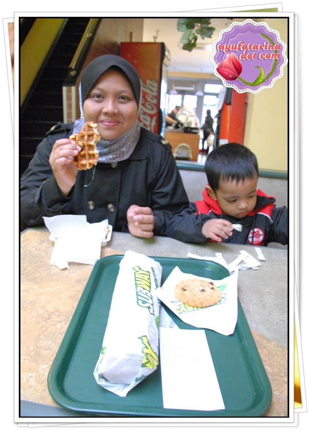 Halal Subway at Brussels