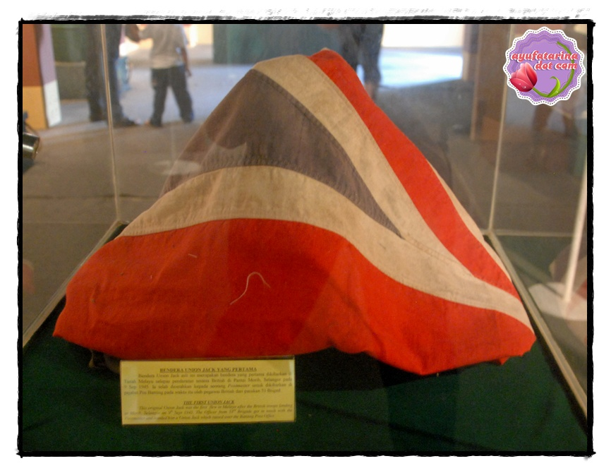The 1st Union Jack in Tanah Melayu