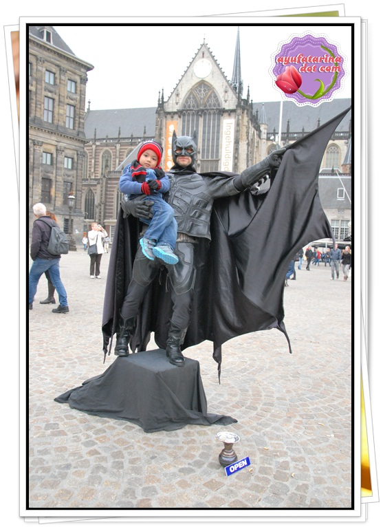 Batman in Amsterdam Dam Square