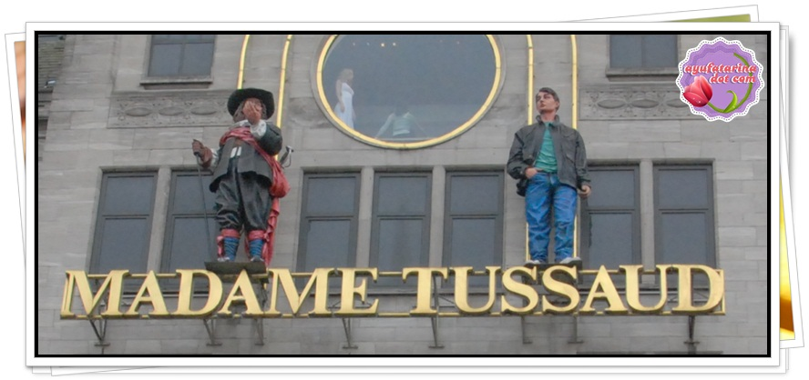 Dam Square Amsterdam Madam Tussaud Building