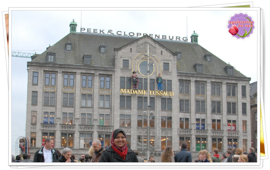 Dam Square Amsterdam Madam Tussaud Full Pic