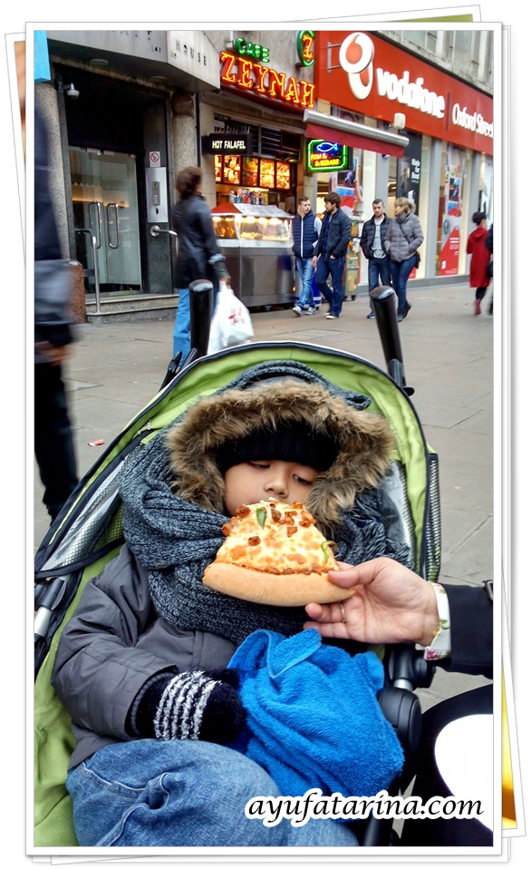 Halal Pizza in London 2