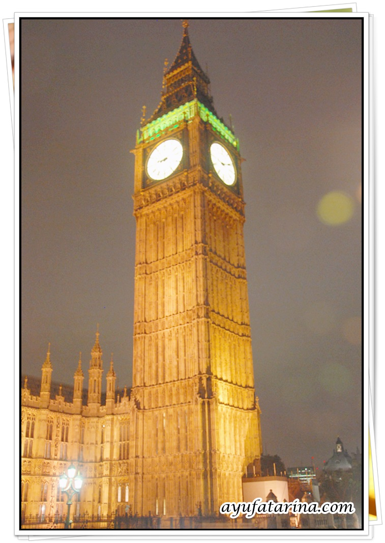 Big Ben London Night View 2