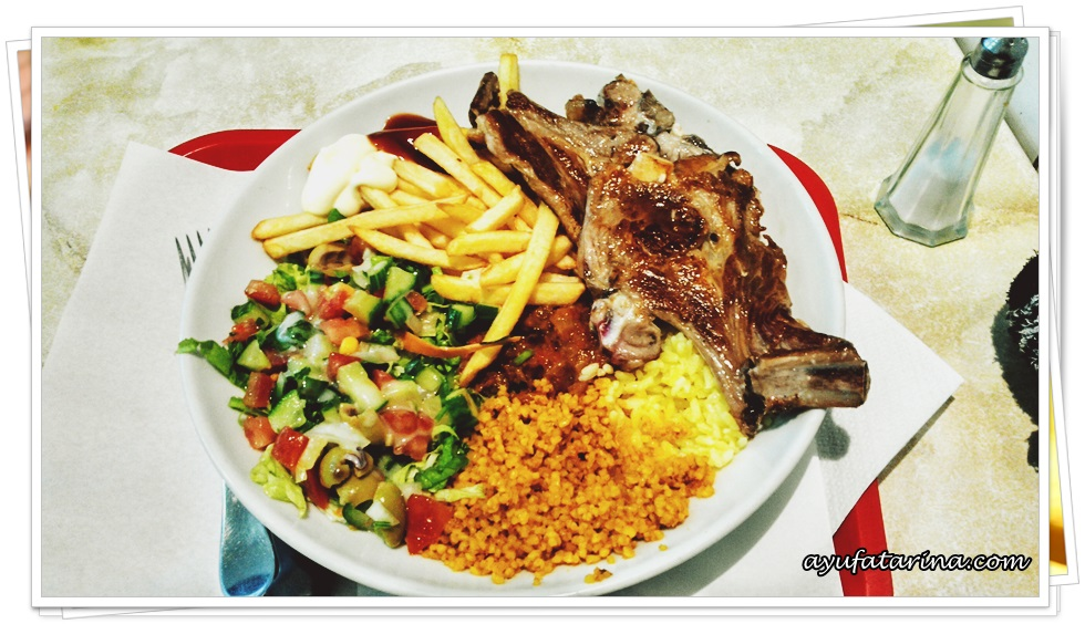 Lamb Grill Halal Food Paris